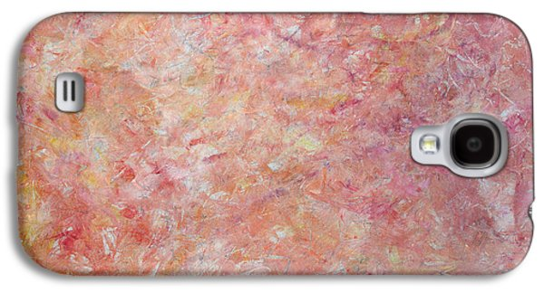 Subtle Colors Galaxy S4 Cases - Minimal number 6 Galaxy S4 Case by James W Johnson