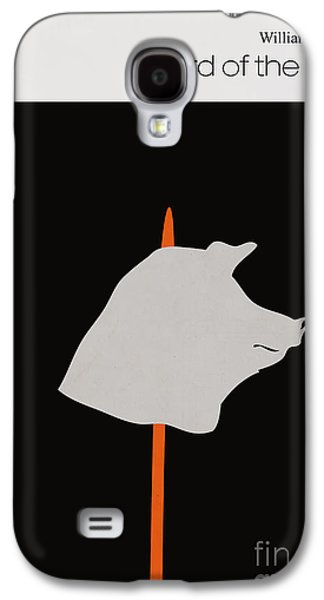Flies Galaxy S4 Cases - Minimalist book cover lord of the flies Galaxy S4 Case by Budi Satria Kwan