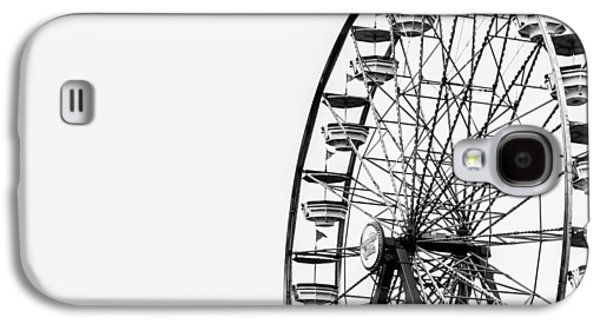 Minimalist Ferris Wheel Galaxy S4 Case by Jon Woodhams