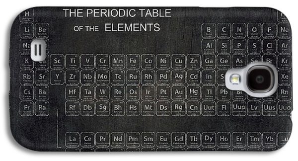 Labs Digital Galaxy S4 Cases - Minimalist Periodic Table Galaxy S4 Case by Daniel Hagerman