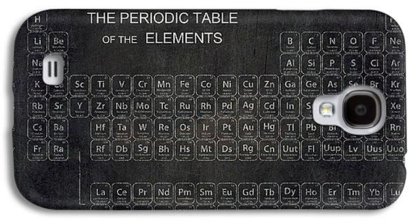 Electron Galaxy S4 Cases - Minimalist Periodic Table Galaxy S4 Case by Daniel Hagerman