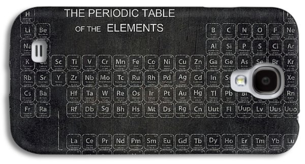 Atomic Galaxy S4 Cases - Minimalist Periodic Table Galaxy S4 Case by Daniel Hagerman