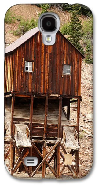 Old House Photographs Galaxy S4 Cases - Mining Area Galaxy S4 Case by Dan Sproul