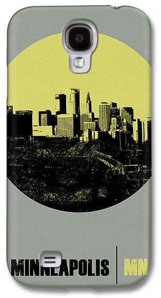 Architectural Digital Art Galaxy S4 Cases - Minneapolis Circle Poster 2 Galaxy S4 Case by Naxart Studio