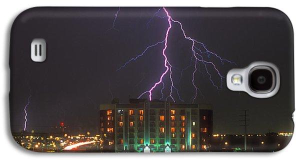 Minnesota Galaxy S4 Cases - Minnesota Electrical Storm Galaxy S4 Case by Mike McGlothlen