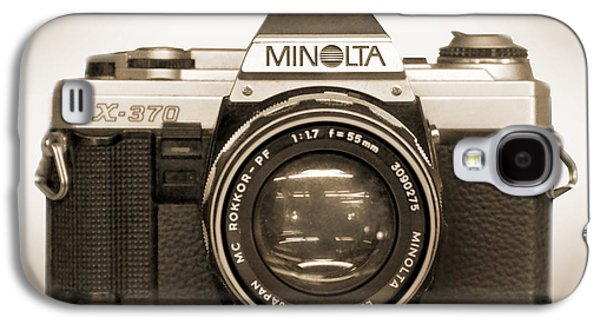 35mm Galaxy S4 Cases - Minolta X-370 Galaxy S4 Case by Mike McGlothlen