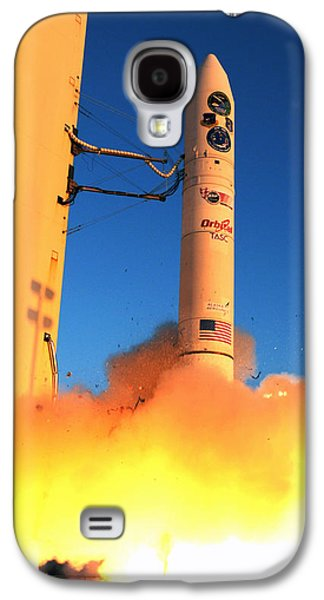 Minotaur Iv Rocket Launches Falconsat-5 Galaxy S4 Case by Science Source