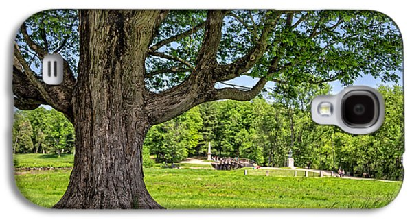 Concord Galaxy S4 Cases - Minute Man National Historical Park  Galaxy S4 Case by Edward Fielding
