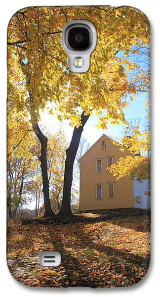 Concord Galaxy S4 Cases - Minuteman National Historic Park Brooks House Galaxy S4 Case by John Burk