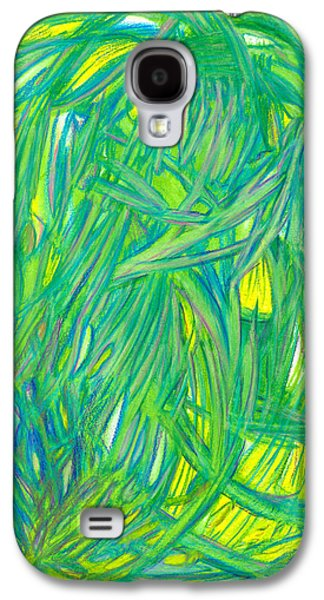 Abstract Movement Drawings Galaxy S4 Cases - Miracles Galaxy S4 Case by Kelly K H B