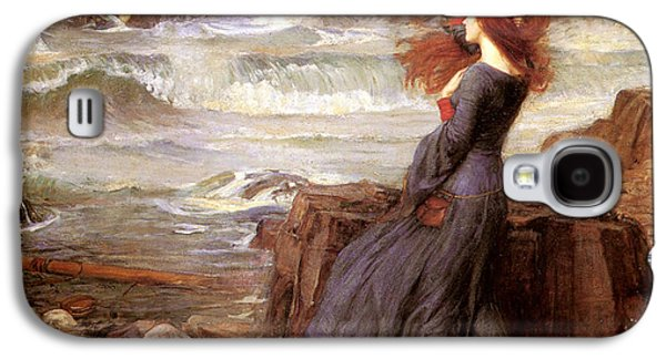 Tempest Galaxy S4 Cases - Miranda and The Tempest Galaxy S4 Case by John William Waterhouse