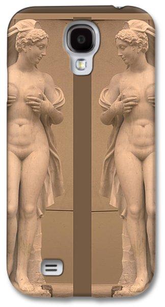 Sports Sculptures Galaxy S4 Cases - MIRROR image Adorable Beauty Princess Galaxy S4 Case by Navin Joshi