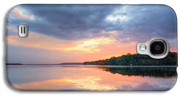 Bible Quotes Galaxy S4 Cases - Mirrored Sunset Galaxy S4 Case by JC Findley