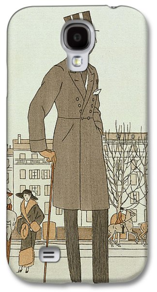 20s Galaxy S4 Cases - Mise dun jeune homme Galaxy S4 Case by French School