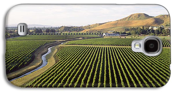 Winery Photography Galaxy S4 Cases - Mission Vineyard, Hawkes Bay North Galaxy S4 Case by Panoramic Images