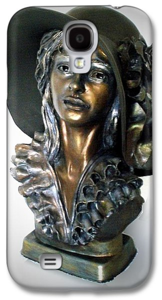 People Sculptures Galaxy S4 Cases - Missy Galaxy S4 Case by Wayne Niemi