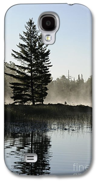Bwcaw Galaxy S4 Cases - Mist and Silhouette Galaxy S4 Case by Larry Ricker