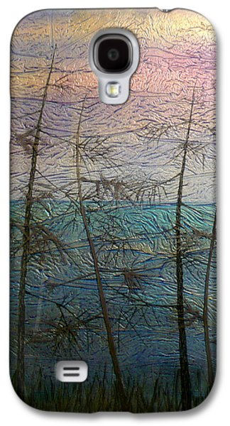 Landscapes Glass Art Galaxy S4 Cases - Mist Fantasy Galaxy S4 Case by Rick Silas