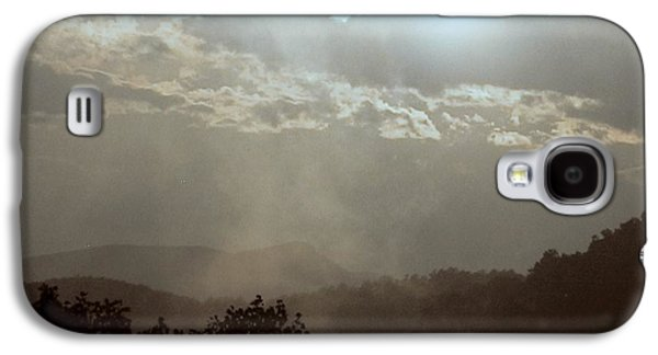 Contemplative Photographs Galaxy S4 Cases - Mist in the Mountains Galaxy S4 Case by Photographic Arts And Design Studio