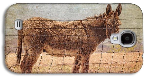 Donkey Digital Art Galaxy S4 Cases - Mister Cool Galaxy S4 Case by Betty LaRue