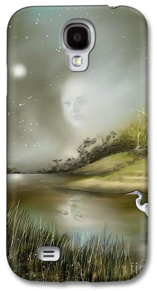 Dreamscape Galaxy S4 Cases - Mistress of the Glade Galaxy S4 Case by Susi Galloway