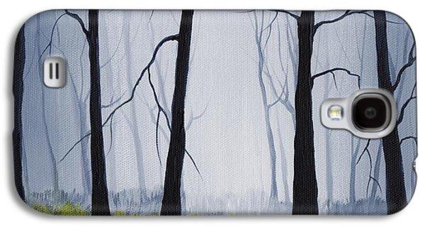Best Sellers -  - Girl Galaxy S4 Cases - Misty Forest Galaxy S4 Case by Anastasiya Malakhova