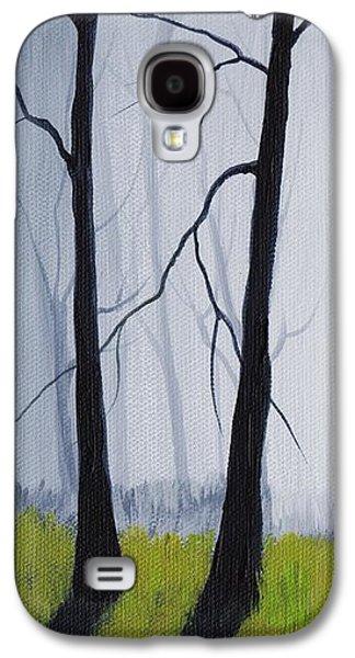 Girl Galaxy S4 Cases - Misty Forest Galaxy S4 Case by Anastasiya Malakhova