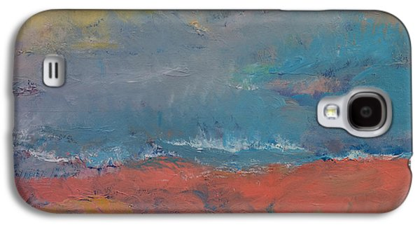 Foggy Beach Galaxy S4 Cases - Misty Galaxy S4 Case by Michael Creese