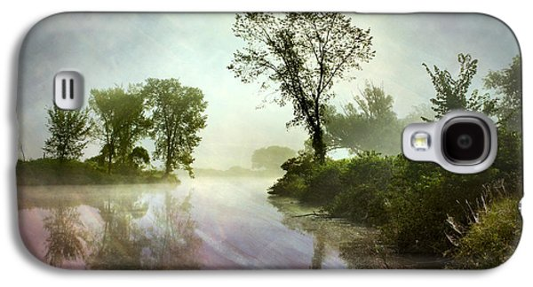 Mysterious Reflection Landscape Galaxy S4 Case by Christina Rollo