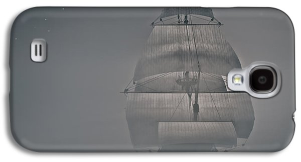 Alone Digital Art Galaxy S4 Cases - Misty Sail Galaxy S4 Case by Lourry Legarde