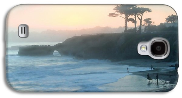 Misty Santa Cruz Galaxy S4 Case by Art Block Collections