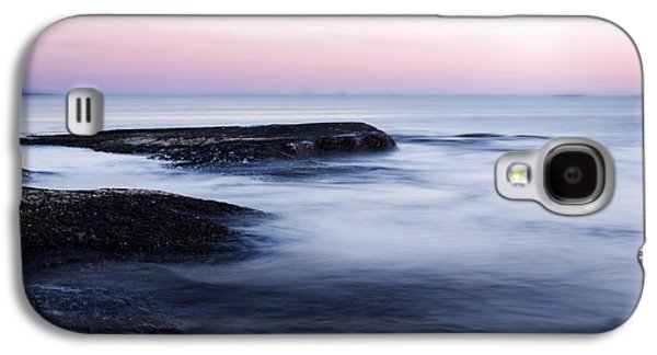 Shore Digital Art Galaxy S4 Cases - Misty Sea Galaxy S4 Case by Nicklas Gustafsson