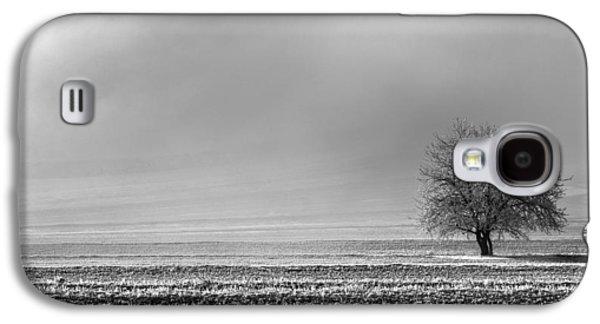 People Pyrography Galaxy S4 Cases - Misty tree Galaxy S4 Case by Attila Simon