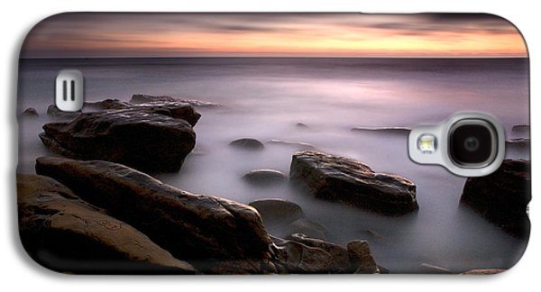 Foggy Beach Galaxy S4 Cases - Misty Water Galaxy S4 Case by Peter Tellone