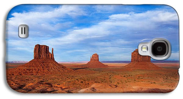 Landscape Framed Prints Galaxy S4 Cases - Mittens Afternoon Galaxy S4 Case by Darren  White
