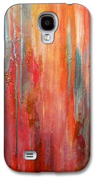 Free Mixed Media Galaxy S4 Cases - Mixed Emotions Galaxy S4 Case by Debi Starr