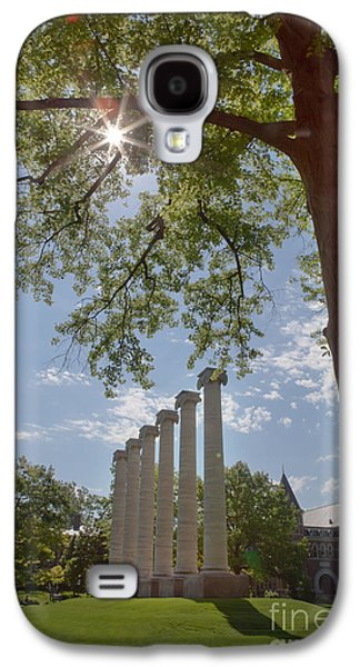 Mizzou Columns Sunflare Galaxy S4 Case by Kay Pickens
