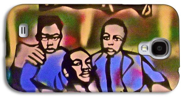 Mlk Fatherhood 2 Galaxy S4 Case by Tony B Conscious