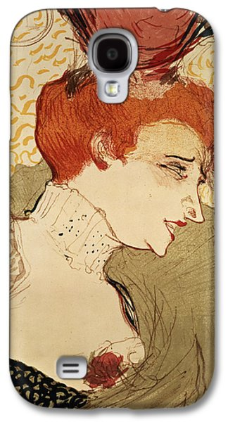 Modern Drawings Galaxy S4 Cases - Mlle Marcelle Lender Galaxy S4 Case by Henri de Toulouse-Lautrec