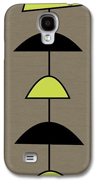 Art Mobile Galaxy S4 Cases - Mobile 2 in Green Galaxy S4 Case by Donna Mibus