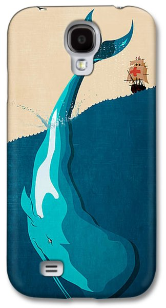 Moby Dick 2 Galaxy S4 Case by Mark Ashkenazi