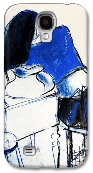 Model #4 - Figure Series Galaxy S4 Case by Mona Edulesco