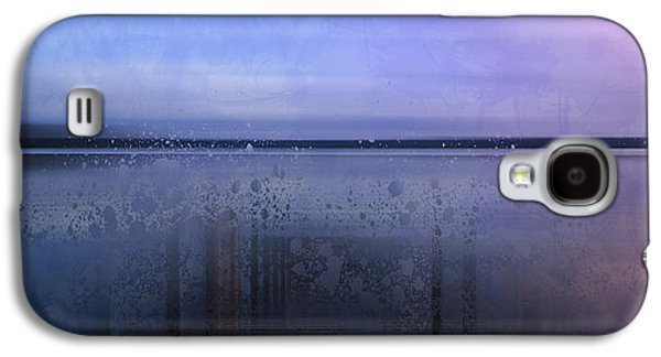 Blue Abstracts Galaxy S4 Cases - Modern-Art FINLAND Beautiful Nature Galaxy S4 Case by Melanie Viola