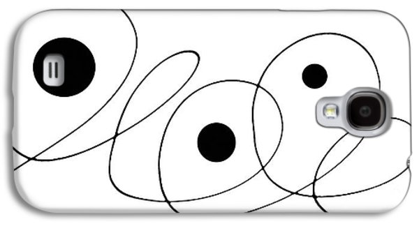 Ultra Modern Galaxy S4 Cases - Modern Art - To The Point - By Sharon Cummings Galaxy S4 Case by Sharon Cummings