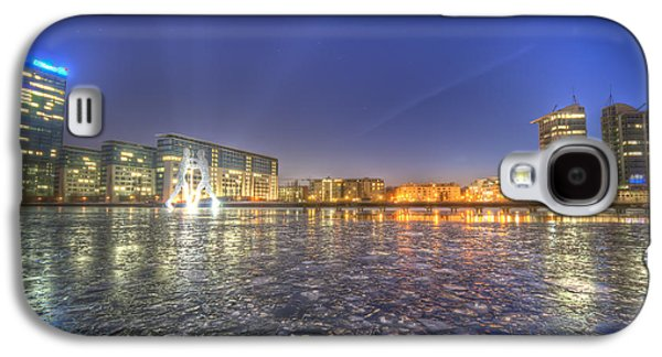 White River Scene Galaxy S4 Cases - Modern skyline  Galaxy S4 Case by Nathan Wright