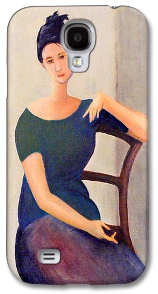 Figures Jewelry Galaxy S4 Cases - Modigliani woman Galaxy S4 Case by Barbara Jacquin