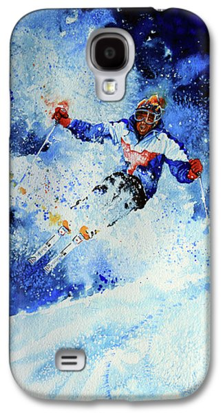 Sports Artist Galaxy S4 Cases - Mogul Mania Galaxy S4 Case by Hanne Lore Koehler