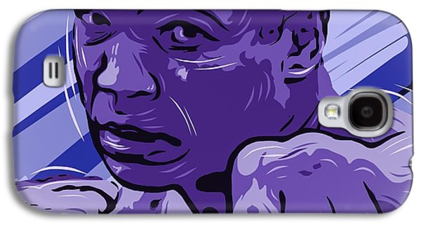 Boxer Digital Art Galaxy S4 Cases - Mohamed Ali  Galaxy S4 Case by Bollmann Benjamin