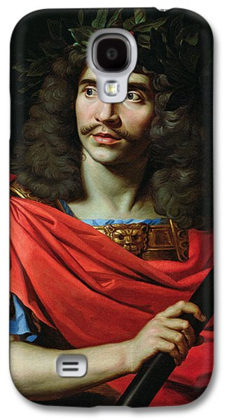 Character Portraits Photographs Galaxy S4 Cases - Moliere In The Role Of Caesar In The Death Of Pompey Oil On Canvas Galaxy S4 Case by Nicolas Mignard