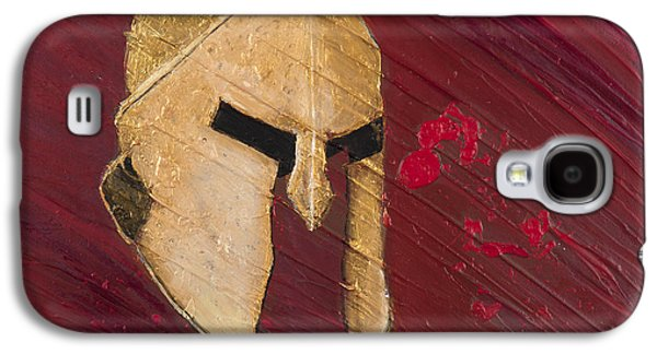 Armor Galaxy S4 Cases - Molon Labe Galaxy S4 Case by Lifeblood Art